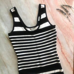 Guess Women's Black & White striped dress A105